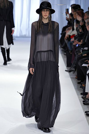 Ann Demeulemeester Fall Winter Womens Wear Fashion 7