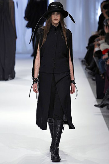 Ann Demeulemeester Fall Winter Womens Wear Fashion 8
