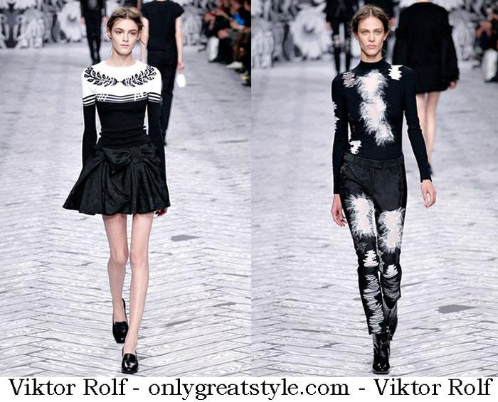 Fashion Show Viktor Rolf Fall Winter 2013 2014