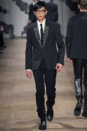 Lifestyle Viktor Rolf Fall Winter Mens Fashion Look 29