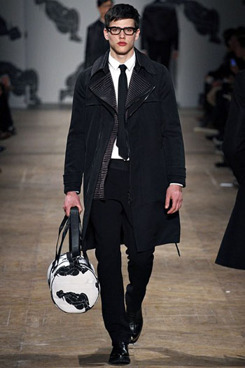 Lifestyle Viktor Rolf Fall Winter Mens Fashion Look 5