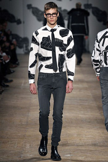 Lifestyle Viktor Rolf Fall Winter Mens Fashion Look 9