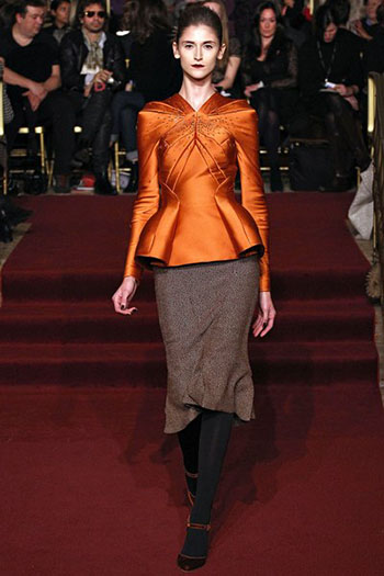 Zac Posen Fall Winter Fashion Clothing Women Look 12