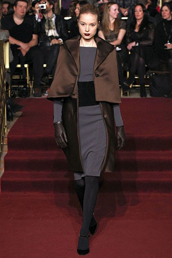 Zac Posen Fall Winter Fashion Clothing Women Look 14