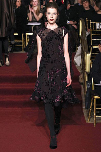 Zac Posen Fall Winter Fashion Clothing Women Look 15