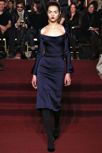 Zac Posen Fall Winter Fashion Clothing Women Look 22