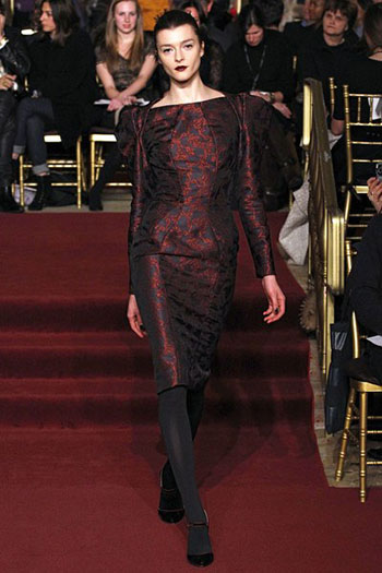 Zac Posen Fall Winter Fashion Clothing Women Look 24