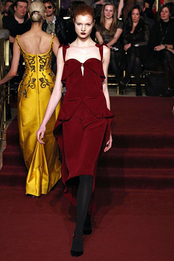Zac Posen Fall Winter Fashion Clothing Women Look 27
