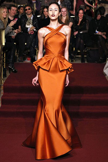 Zac Posen Fall Winter Fashion Clothing Women Look 30