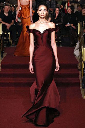 Zac Posen Fall Winter Fashion Clothing Women Look 31