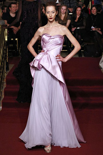 Zac Posen Fall Winter Fashion Clothing Women Look 34