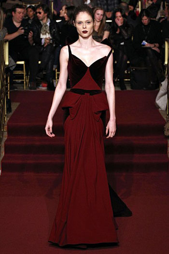 Zac Posen Fall Winter Fashion Clothing Women Look 38