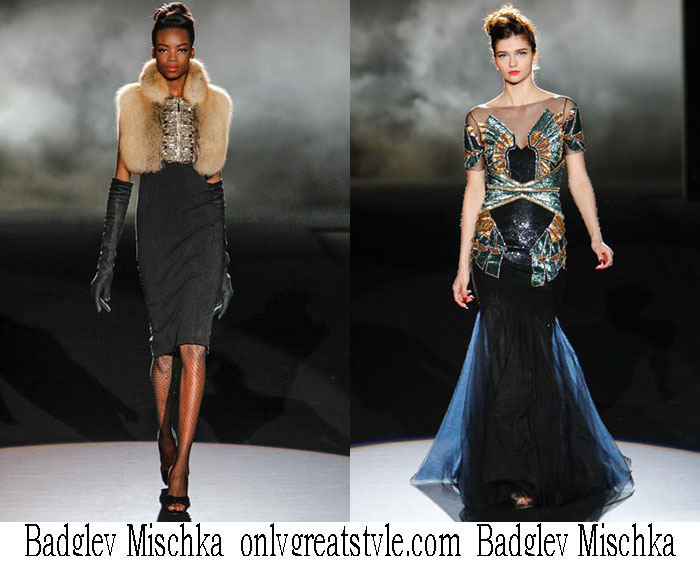 Badgley Mischka Fall Winter 2013 2014 Fashion