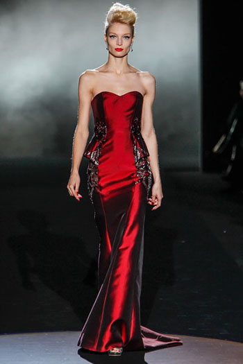Badgley Mischka Fall Winter Fashion Women Look 20
