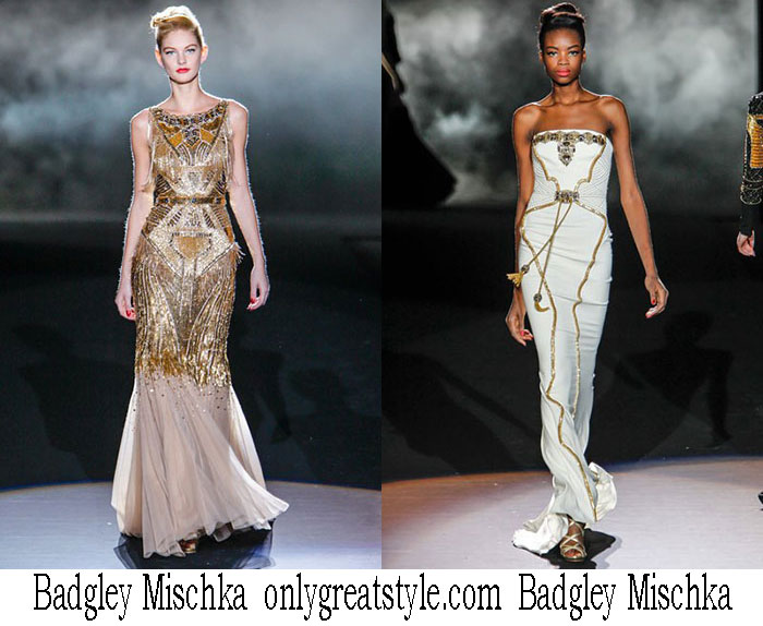 Badgley Mischka Fall Winter Fashion Women