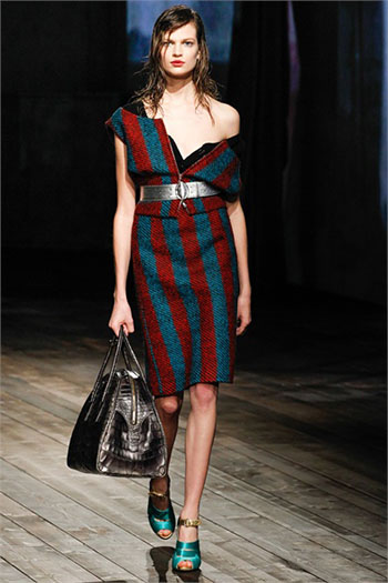 Lifestyle Prada fall winter womens wear fashion look 12