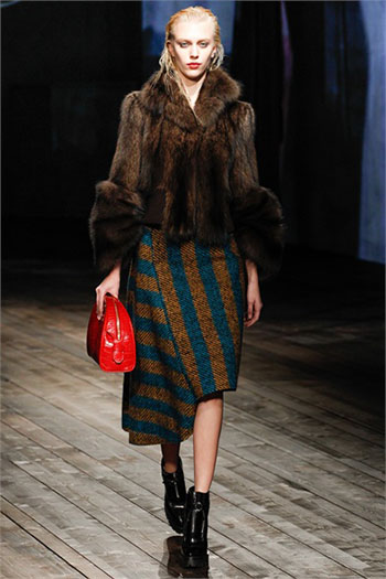 Lifestyle Prada fall winter womens wear fashion look 13