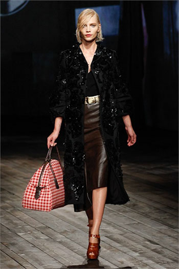 Lifestyle Prada fall winter womens wear fashion look 18