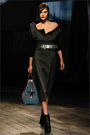 Lifestyle Prada fall winter womens wear fashion look 3
