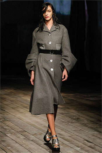 Lifestyle Prada fall winter womens wear fashion look 4
