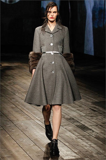 Lifestyle Prada fall winter womens wear fashion look 5
