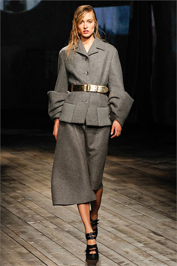 Lifestyle Prada fall winter womens wear fashion look 7