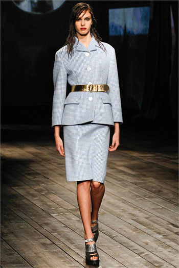 Lifestyle Prada fall winter womens wear fashion look 8