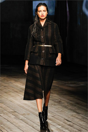 Lifestyle Prada fall winter womens wear fashion look 9