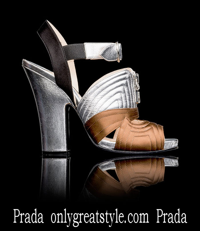 Shoes Prada Fall Winter 2013 2014 Footwear Look 1