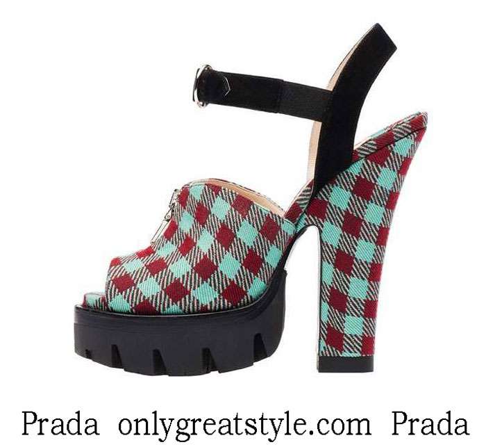 Shoes Prada Fall Winter 2013 2014 Footwear Look 5