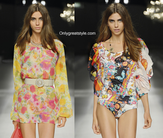 Beachwear women Blumarine summer 2014 womenswear