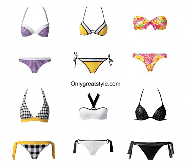 Fashion trends bikinis Calzedonia 2014 womenswear