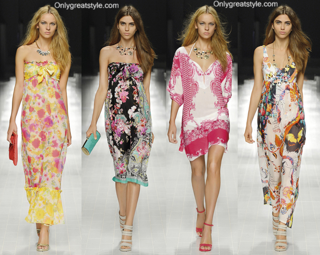 Swim dress Blumarine spring summer 2014 style for women