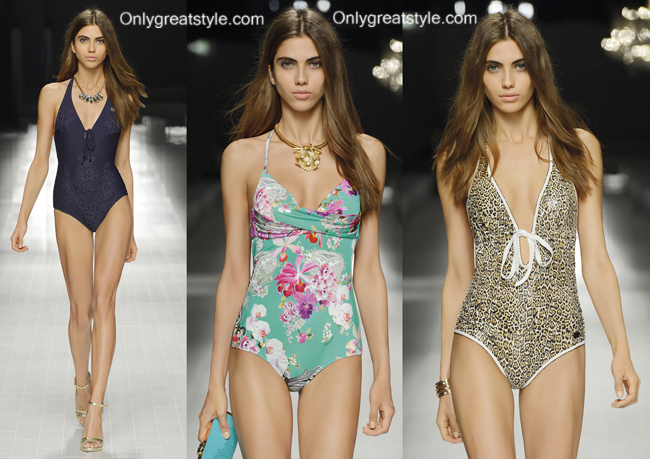 Swimwear Blumarine 2014 womenswear swimsuits