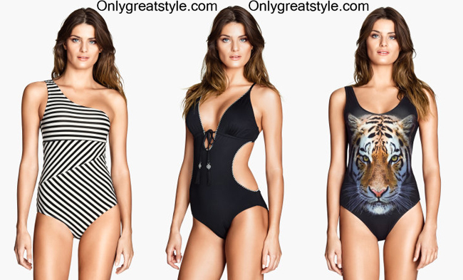 Swimwear HM 2014 womenswear swimsuits