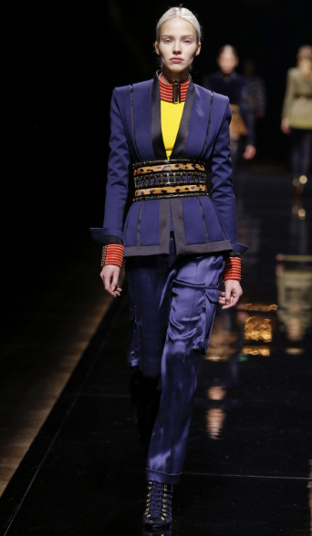 Balmain-fall-winter-womenswear-look-8
