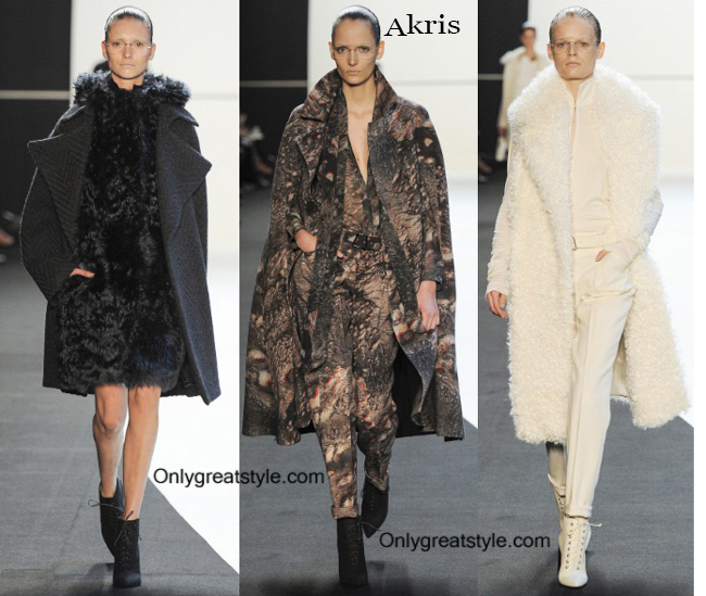 Clothing Akris fall winter 2014 2015 style for women