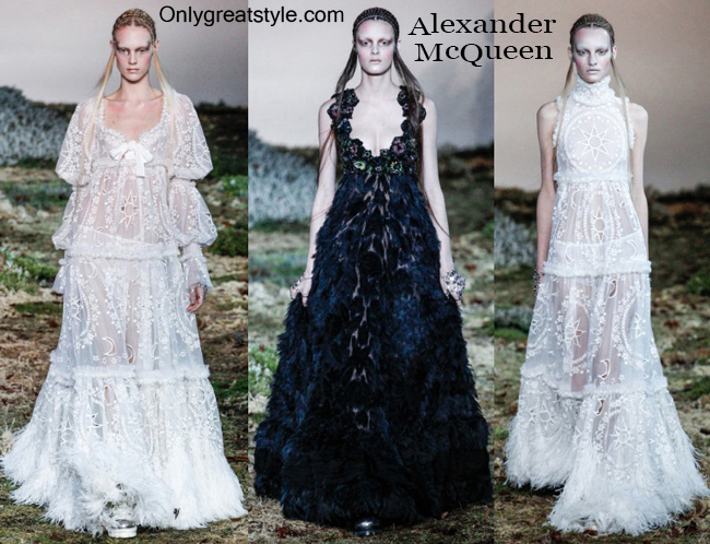 Clothing Alexander McQueen fall winter 2014 2015
