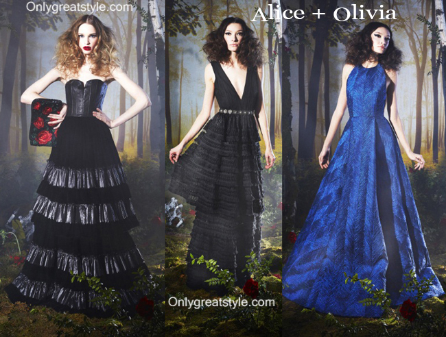 Clothing Alice Olivia fall winter 2014 2015 style for women