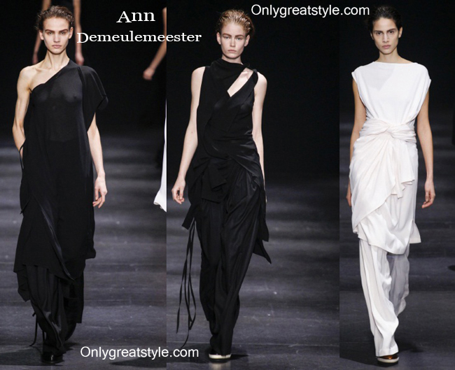Clothing Ann Demeulemeester fall winter style for women