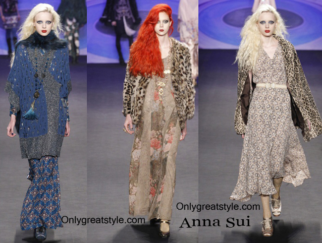 Clothing Anna Sui fall winter style for women