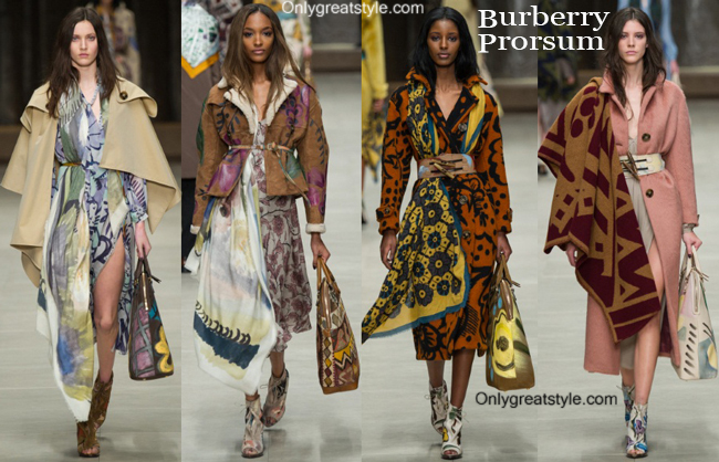 Clothing Burberry fall winter 2014 2015 style for women