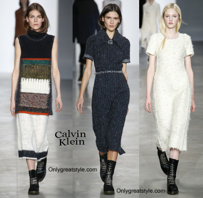 Clothing Calvin Klein fall winter 2014 2015 style for women