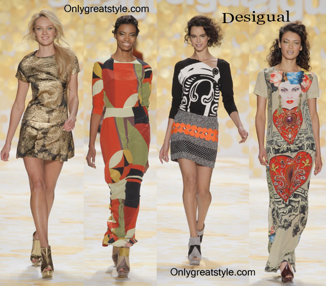 Clothing Desigual fall winter 2014 2015 style for women