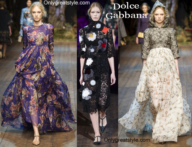 Clothing Dolce Gabbana fall winter 2014 2015 for women