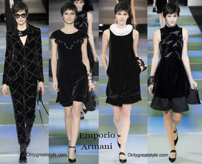 Clothing Emporio Armani fall winter 2014 2015 for women