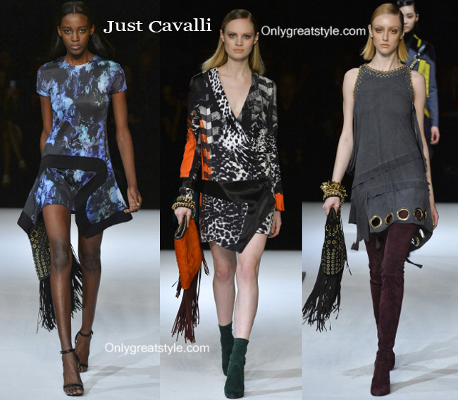 Clothing Just Cavalli fall winter 2014 2015 style for women