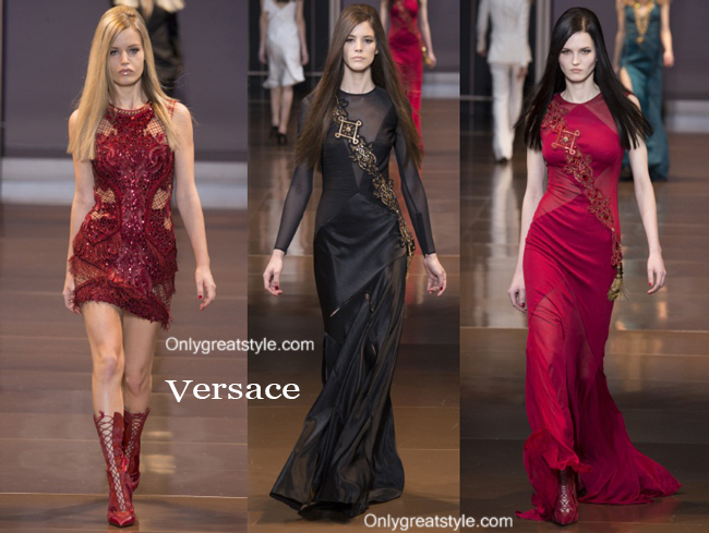 Clothing Versace fall winter style for women