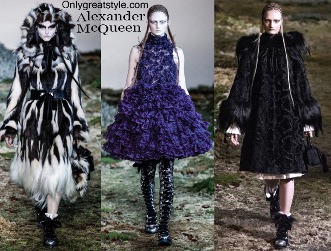 Clothing accessories Alexander McQueen 2014 2015