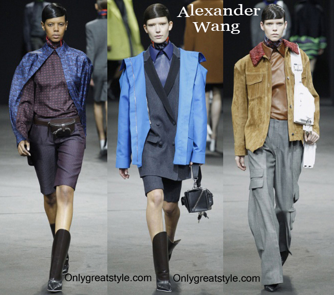 Clothing accessories Alexander Wang fall winter 2014 2015